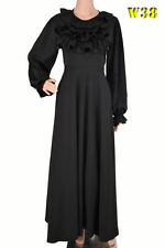 Abaya/ Jilbab/ Modest Dress/ Kaftan/ Uk Sizes 10, 12 - 50.51,52,53,54,55,56""