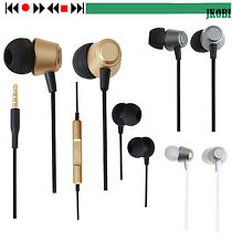 Jkobi Ear Shape Metal Earphones Headset Compatible For iBall Andi 5U Platino