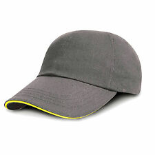 Result Kids Low Profile Heavy Brushed Cotton Cap Childrens Baseball 6 Pane Caps
