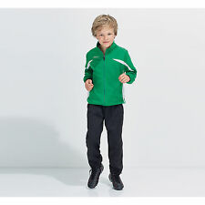 Childrens Kids Camp Nou Tracksuit Jacket Trousers Set Sportswear Bottom Pant Top