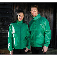 Result Core Mens Womens Lightweight Windcheater Unisex Waterproof Jacket Coat