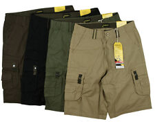 """Stanley Relaxed Fit Cargo Work Shorts - Sizes 32""""- 42"""""""