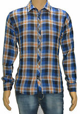 Buy Blue Color Casual Shirts For Men - Checks Shirts For Men
