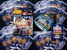 Topps FORCE ATTAX Star Wars CLONE WARS Serie 4 - Tüten Booster Trading Cards