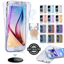 Hybrid Colors Glitter Shockproof 360° Bling Solicone GEL Case Cover For Samsung