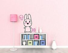 stickers muraux décoration mural~Lapin colère~kawaii