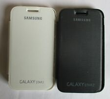 Samsung Galaxy Star 2 G 130 Back Flip Cover Cases/Screen Guard/Tempered Glass