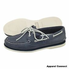 Timberland Classic 2 Eye Boat Shoe Mens Leather Deck Shoes Size UK 8-11