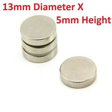 2 to 20 Pieces of 13mm x 5mm Neodymium Magnets N52 Rare Earth NdfeB Magnet