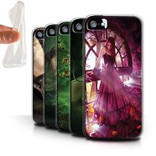 Official Elena Dudina Gel/TPU Case for Apple iPhone 5/5S /One with Nature