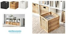 IKEA BRANAS RATTAN STORAGE BOX Great For Toys, Photos & Magazine