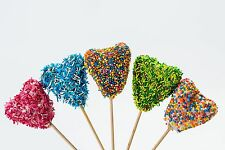 Buy Valentine's Day Heart Shaped Cake Pops with Sprinkles