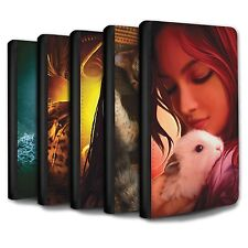 Elena Dudina PU Leather Case/Wallet for Samsung Galaxy S3 Mini /The Animals