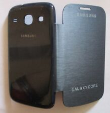 Samsung Galaxy Core Duos i8260/i8262 Back Flip Cover/Screen Guard/Tempered Glass