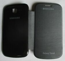 Samsung Galaxy Trend GT - 7392 Back Flip Cover Flip Cover Cases/Screen Guard