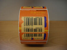 1500 ROYAL MAIL SIGNED FOR RECORDED DELIVERY LABELS. POST OFFICE STICKERS ROLL