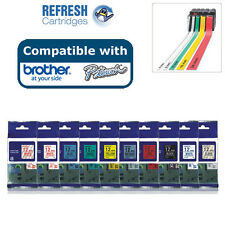 COMPATIBLE P-TOUCH LABELS / TAPE CASSETTE FOR BROTHER LABEL PRINTERS