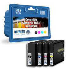 COMPATIBLE CANON PGI-2500XL HIGH CAPACITY 4 COLOUR INK CARTRIDGE MULTI PACK