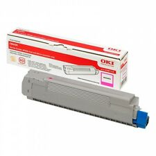 BRAND NEW GENUINE OKI 43487710 MAGENTA ORIGINAL LASER TONER CARTRIDGE
