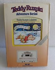 NEW 1985 WORLDS OF WONDER TEDDY RUXPIN LULLABIES SONGS BOOK & CASSETTE TAPE