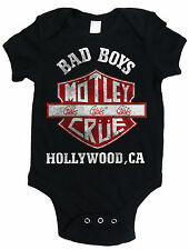 Motley Crue Bad Boys Baby Grow Babies Outfit Official Romper Suit 3-24 Months