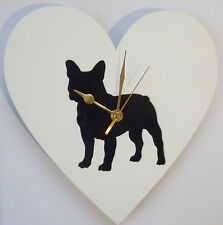 Acrylic Cut Out Dog Clock Great Gift For Any Dog Lover
