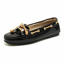 42818 TOD'S mocassino scarpa donna loafer shoes women nero