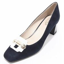 94207 decollete TOD'S GOMMA T55 SU LINGOTTO PIASTRA scarpa donna shoes women