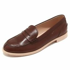 4191P mocassino TOD'S marrone scarpa donna loafer woman