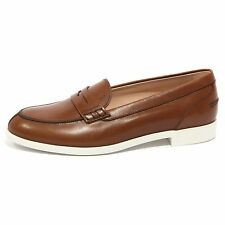 B1511 mocassino donna TOD'S scarpa marrone loafer shoes woman