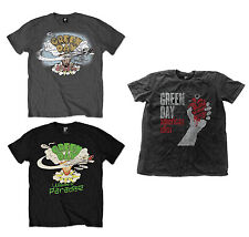 Official Green Day Music Band T-Shirt Dookie Welcome To Paradise American Idiot