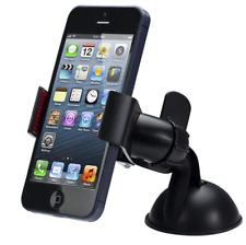 UNIVERSAL CAR PHONE HOLDER WINDSHIELD MOUNT HOLDER FOR IPHONE ANDROID SAMSUNG