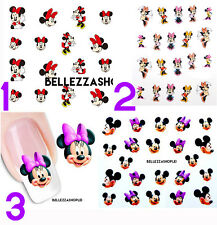 Adesivi unghie Disney Minnie per nail art [Disney Minnie nail art stickers]