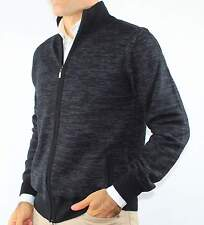 GIACCA ZIP UOMO CARDIGAN CON TASCHE MISTO LANA,MADE IN ITALY.TG M-L-XL-2XL