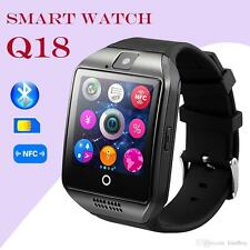 NEW 2018 Q18 Bluetooth Smart Watch Phone + Camera SIM SLOT For Android Top GIFT