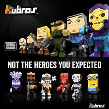 KUBROS BY MEGA BLOKS // BUILDABLE EPIC FILM TV AND GAMING COLLECTABLE CHARACTERS