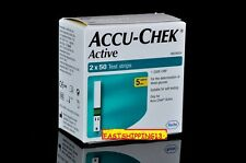 Accu Chek Active Test Strips ( 50 / 100 ) -1 Code Chip - ExpJanuary 2017: CHOOSE