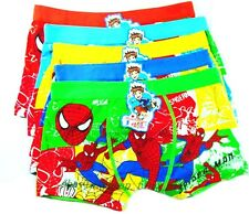 Boys Spiderman Cotton Panty Boxer Shorts Cartoon Underwear Briefs Kids Panties