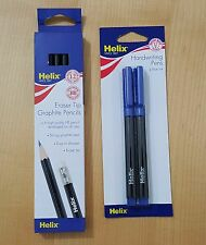 Helix Pencils and Pens with Premium Quality writing 4 Kids Home School Office UK