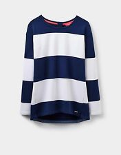 NEW! Joules Ladies Clemence French Navy Stripe Sweatshirt Sizes 12 - 16