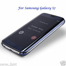 For Samsung Galaxy S7 Clear View Flip Cover Sleep Sensor Worked