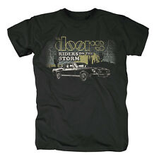 THE DOORS - RIDERS ON THE STORM - OFFICIAL MENS T SHIRT