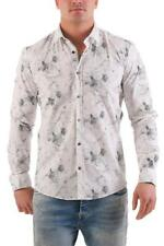 NO EXCESS Hombre Camisa De Manga Larga Camiseta Manga Larga 620410905
