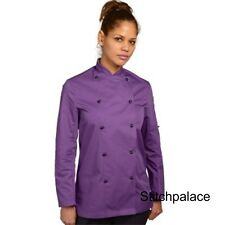 denny's Tecnicolor Chef chaqueta Morado & 10 otro colores disponibles xs-2xl