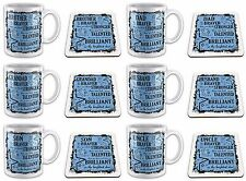 You Are Braver Than You Think Novelty Gift Mug with Coaster - Male