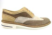 ap242 GOLD BROTHERS  shoes brown beige suede men elegant EU 43,EU 44