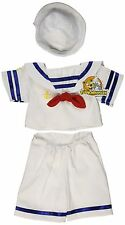 Sailor Boy with Hat Outfit Build-A-Bear Teddy Clothes Fit 14