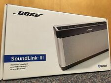 New BOSE Soundlink 3 Portable Wireless Mobile Bluetooth Speaker RRP £249.95