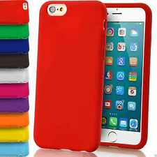 Silicone Morbido Grip Custodia Cover Opaco Tinta Unita Gomma Gel Per Apple