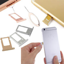 Metal Nano Sim Card Tray Slot Holder Plate + Ejector Pin For iPhone 6 6G 6S Plus